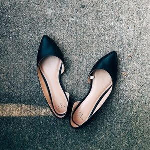 A New Day Mohana D'orsay Pointed Toe Ballet Flats